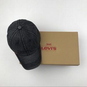 Levi's Accessories - Levi Strauss Denim Strapback Orange Tab Levi's
